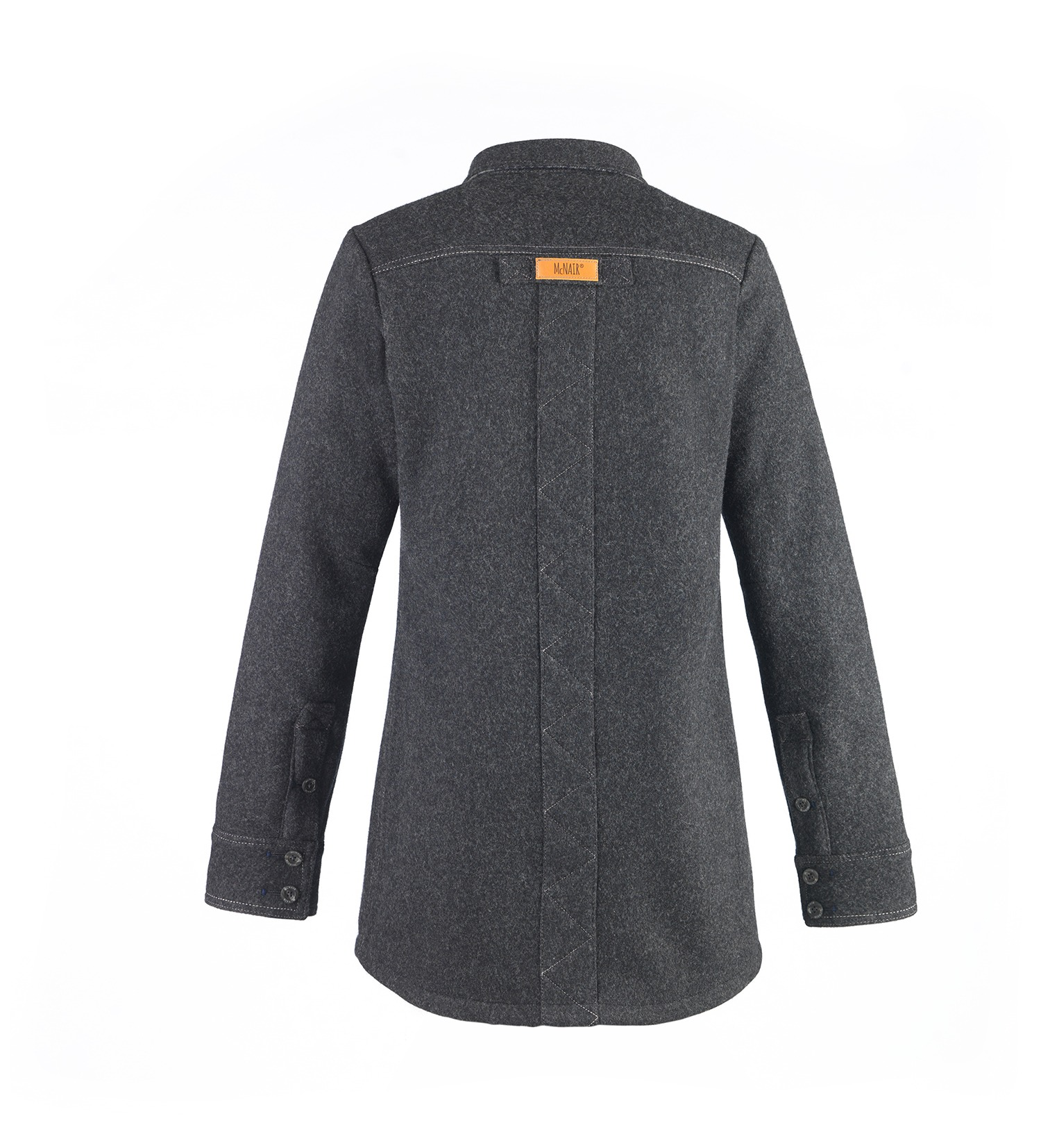 womens midweight merino shirt back
