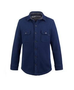 McNair Merino Mountain Shirt in Slawit Blue