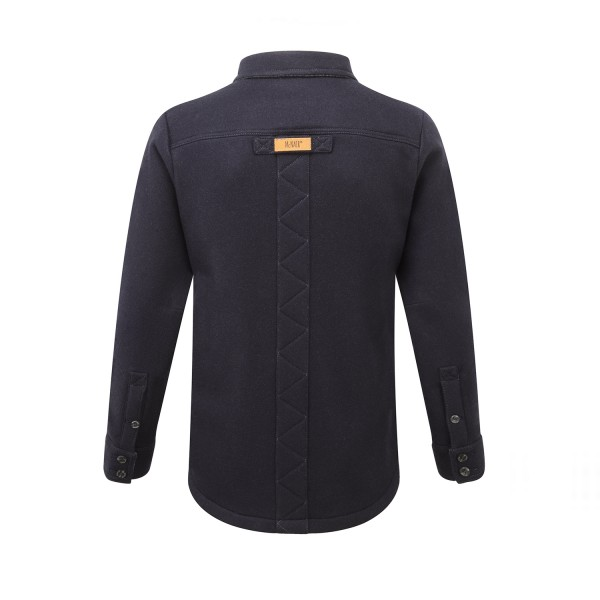 Men's Merino - Midnight - Back