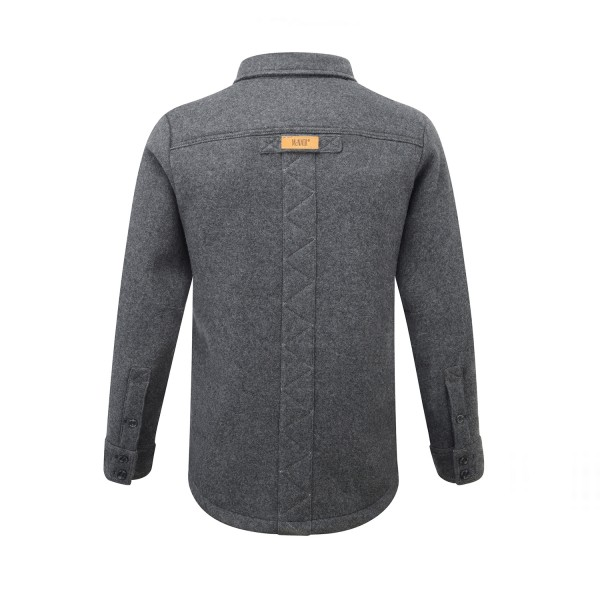 Men's Merino - Smoke - Back
