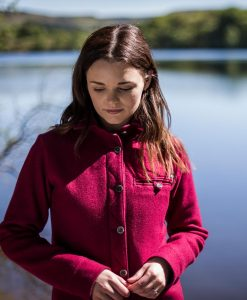 McNair women's merino Fell Shirt in Heather