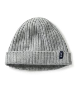 McNair men's beanie hat in silver mist