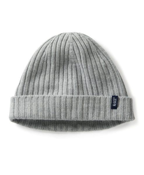 McNair men's beanie hat in silver mist