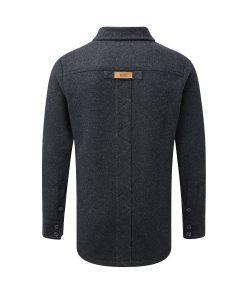 McNair men's merino fell shirt in charcoal