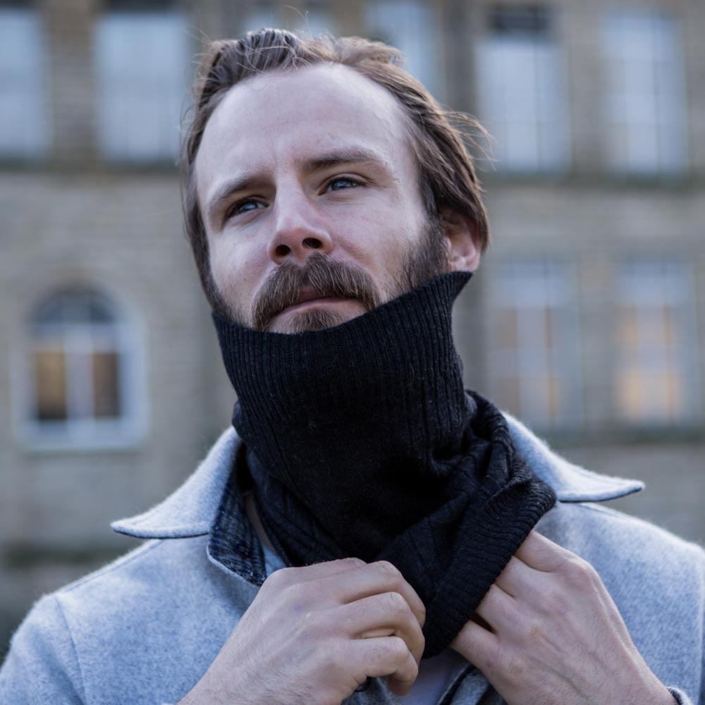 McNair Men's merino neck warmer