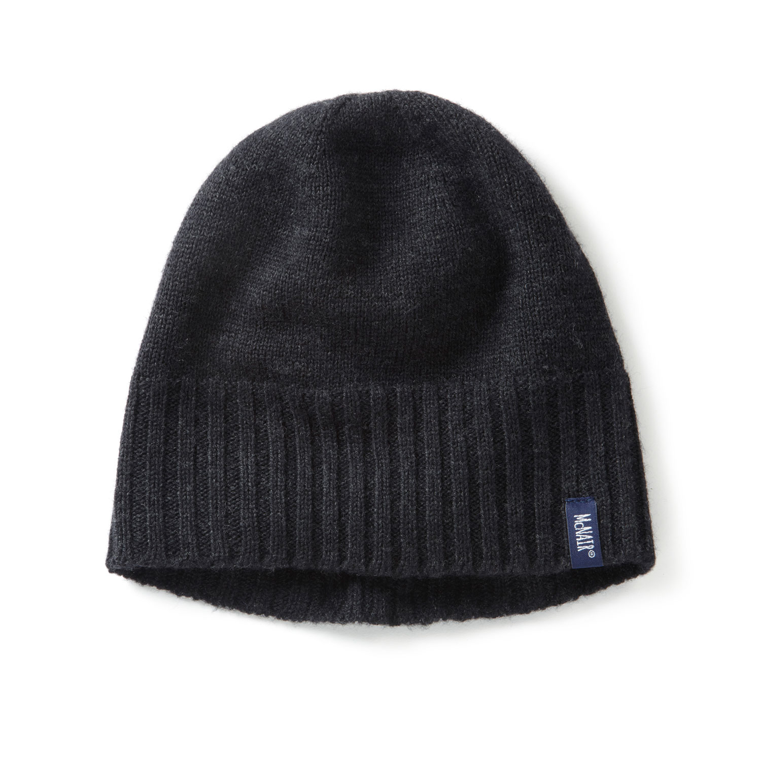 McNair women's beanie hat in charcoal