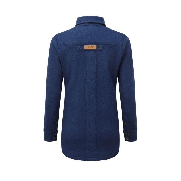 McNair women's merino fell shirt in blue
