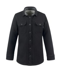 McNair women's merino mountain shirt in black
