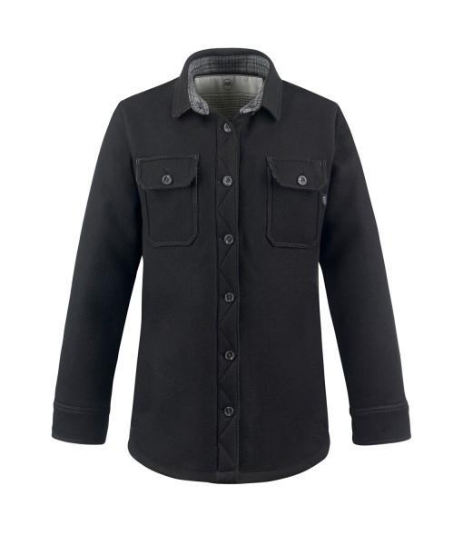 McNair women's merino mountain shirt in black