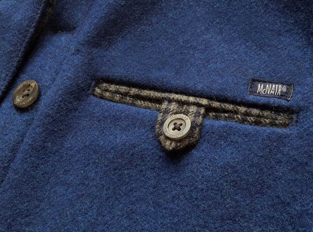 McNair Shirts – Welted pocket, Slawit blue