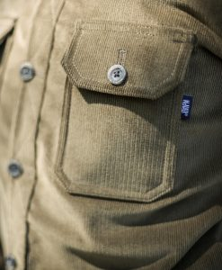McNair Men's PlasmaDry corduroy Work Shirt - pocket detail