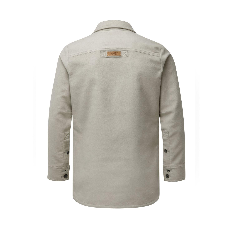 McNair Men's PlasmaDry Moleskin shirt in sisal