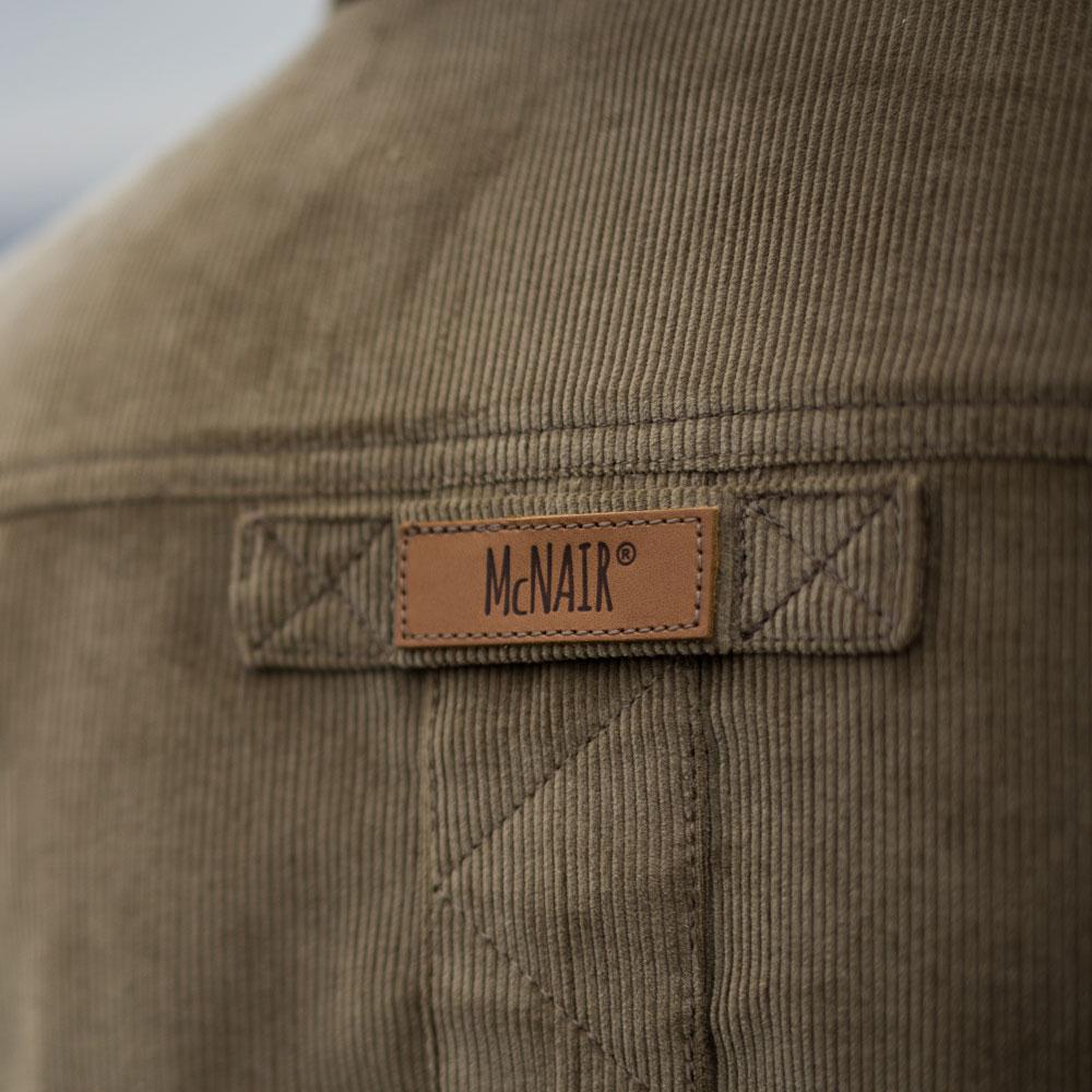 McNair PlasmaDry Shirt logo detail