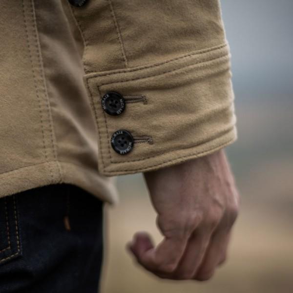 McNair PlasmaDry Moleskin shirt cuff detail