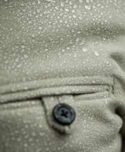 McNair PlasmaDry Moleskin shirt showing water beading