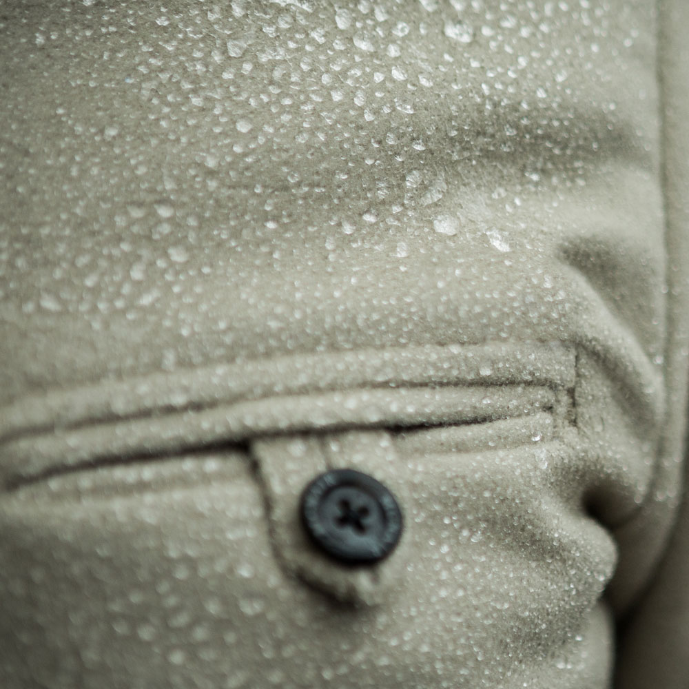 McNair PlasmaDry Shirt water beading