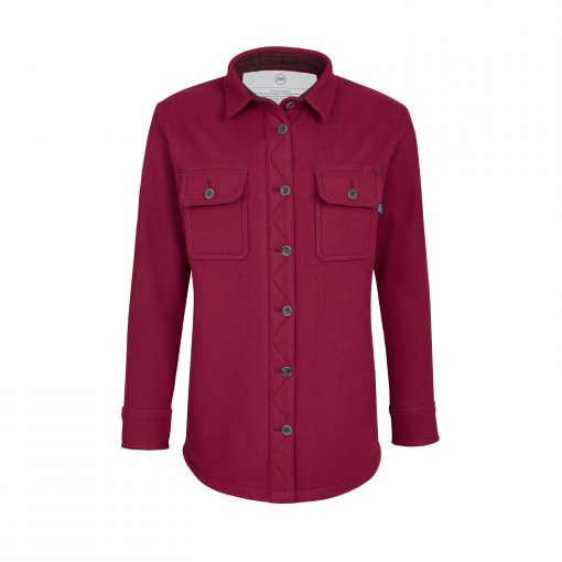 McNair women's merino Mountain Shirt in Heather