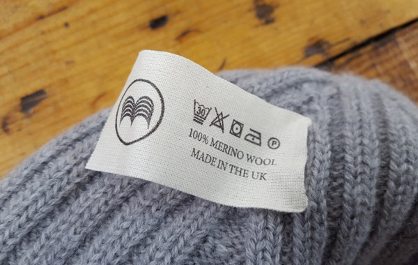 McNair merino wool hat washing instructions
