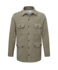 McNair men's moleskin Field Shirt in sandstone