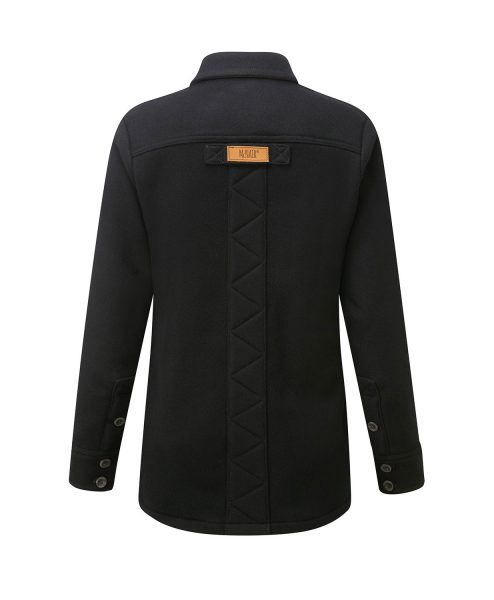 McNair Womens Merino Fell Shirt in Black