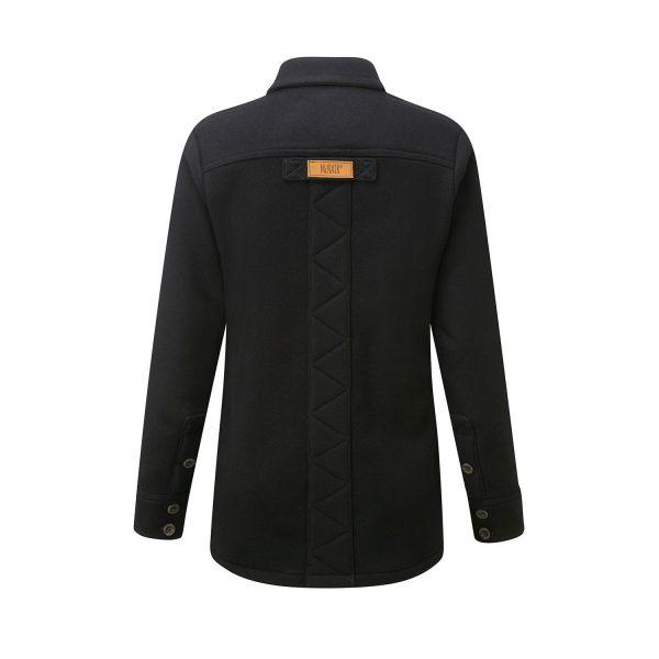 McNair Womens Merino Fell Shirt in Black