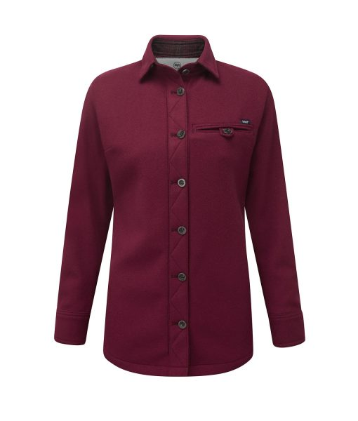 McNair Womens Merino Fell Shirt in Heather