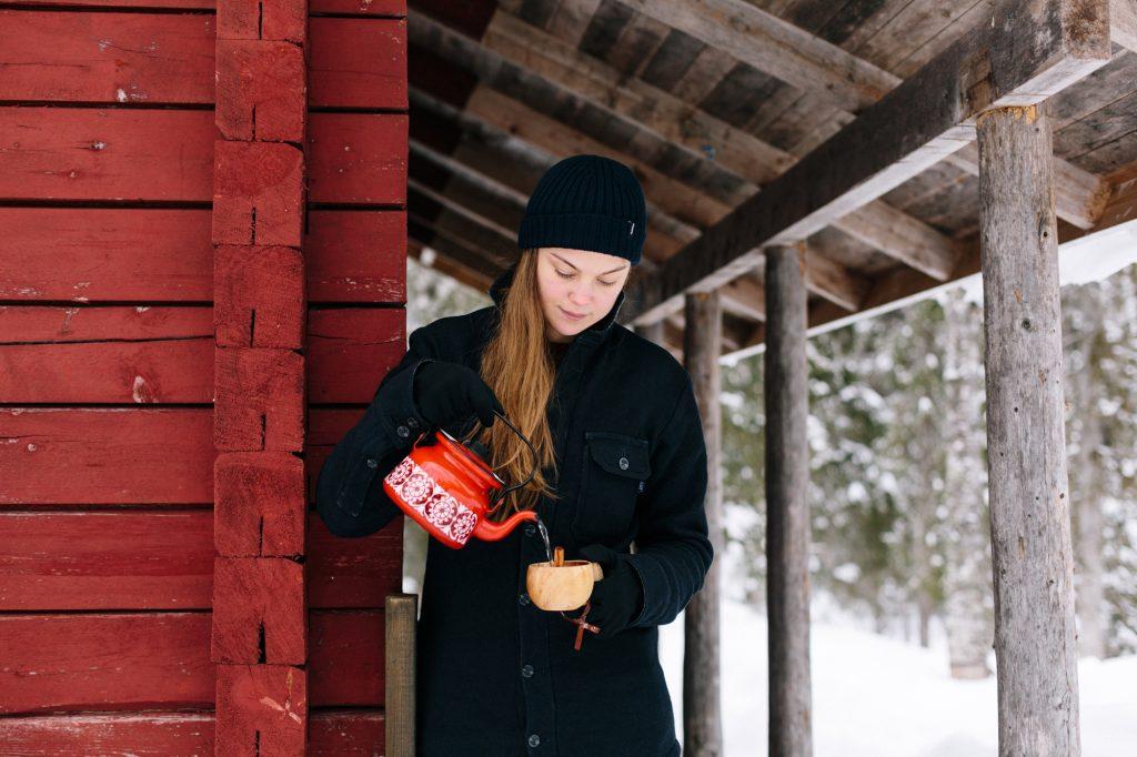 Liz Seabrook in Finland