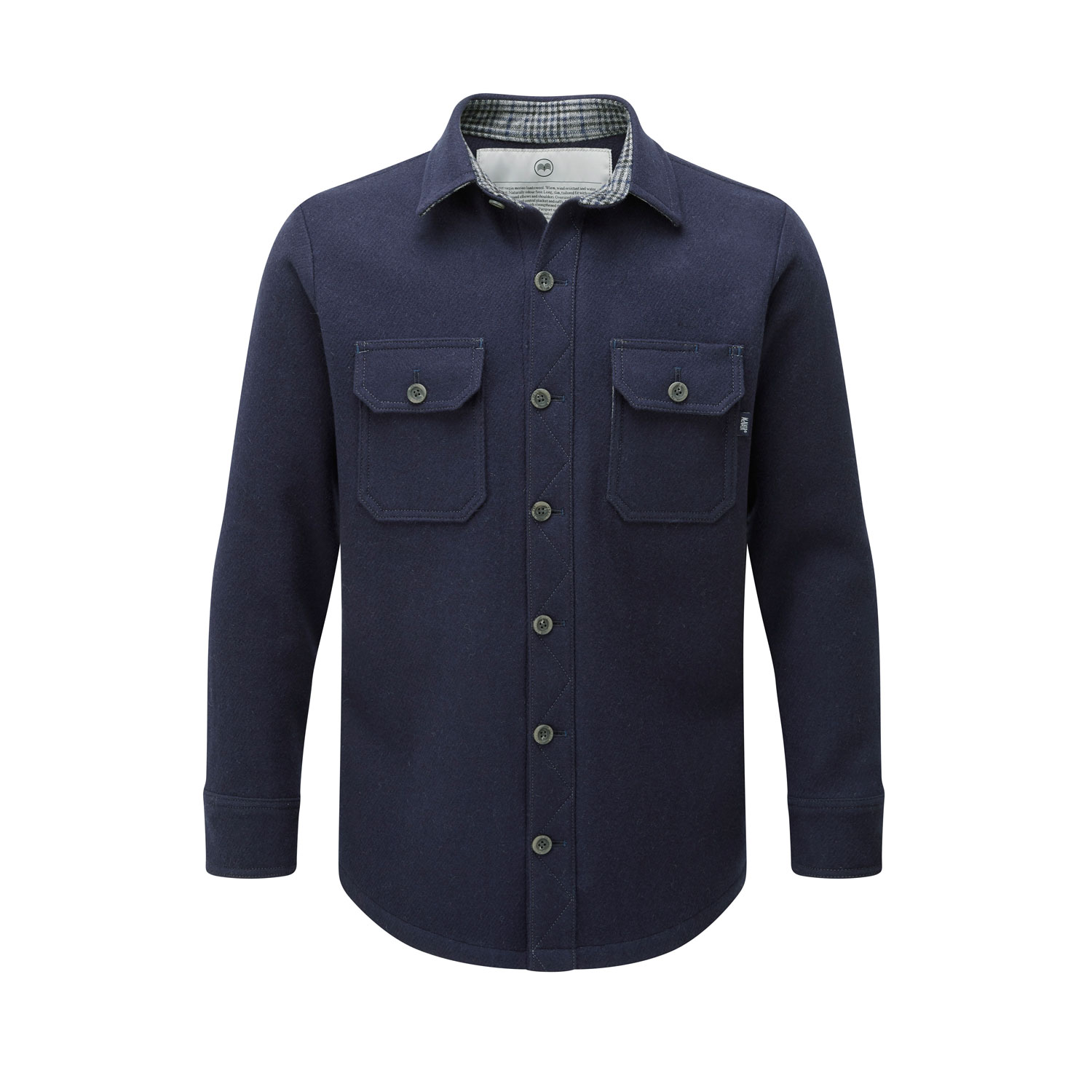 McNair Men's midweight merino Mountain Shirt