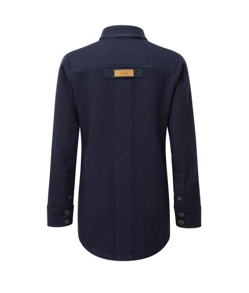 McNair Women's midweight Fell Shirt in Classic Navy