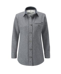 McNair women's Fell Shirt in Ash melange