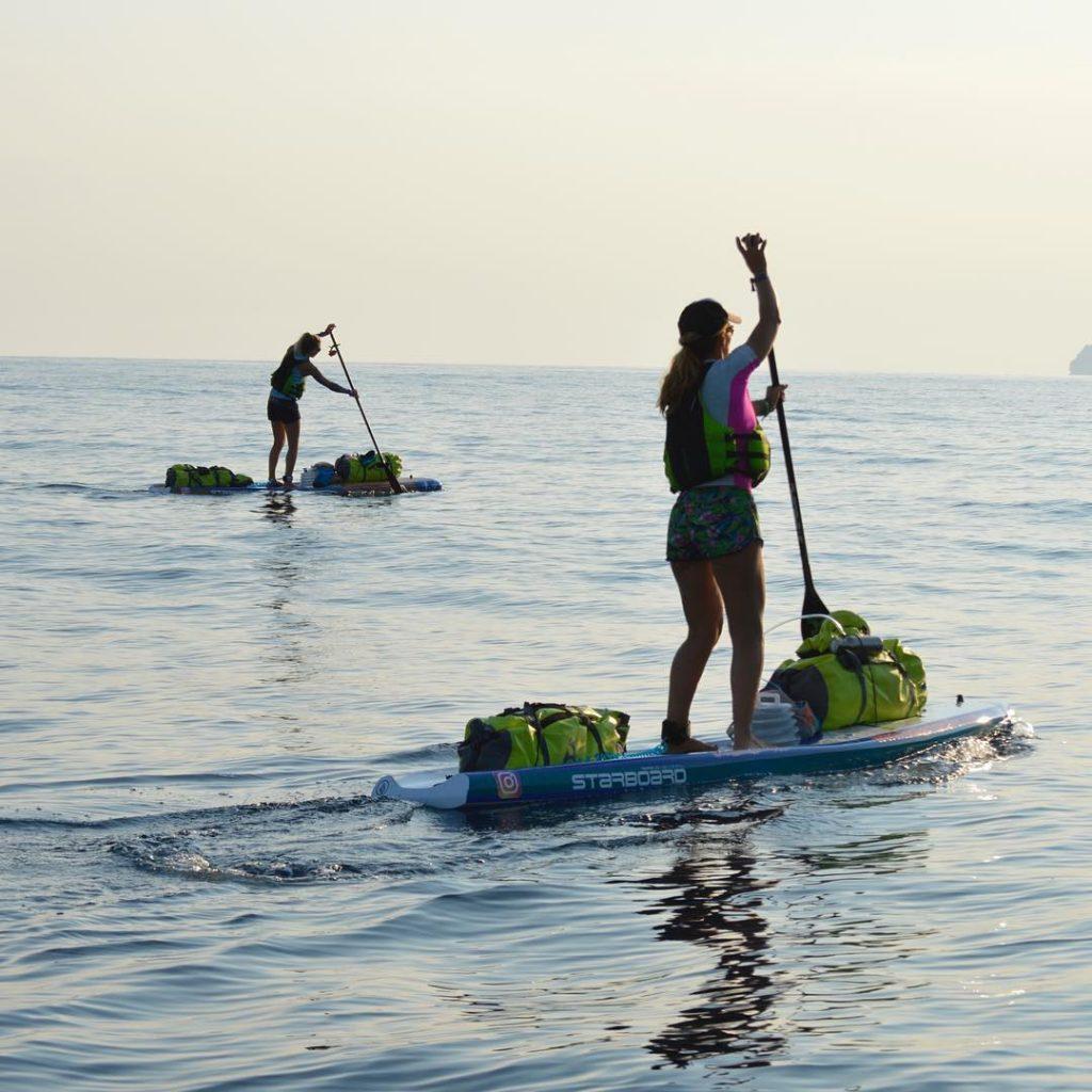Cat Friend and Valerie Bisbal circumnavigate the Spanish Island of Mallorca