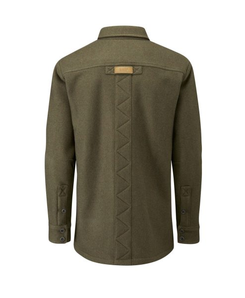 McNair men's merino Mountain Jacket in sage