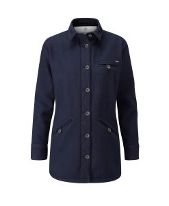 McNair Women's merino Fell Jacket in navy