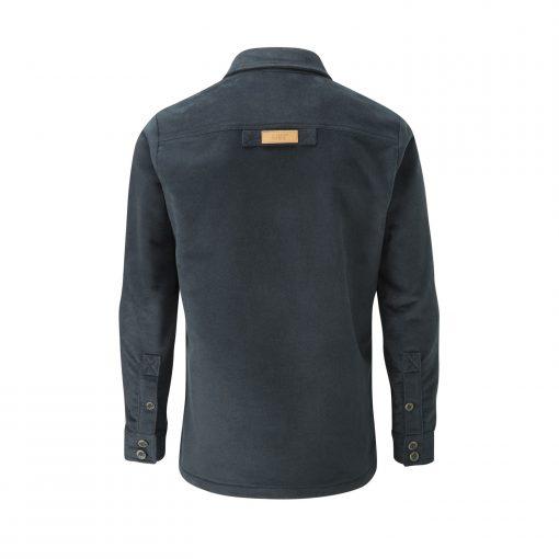 McNair men's PlasmaDry Storm Grey Force shirt (back)