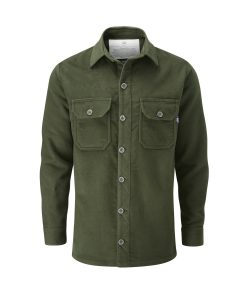 McNair men's PlasmaDry Olive Force shirt