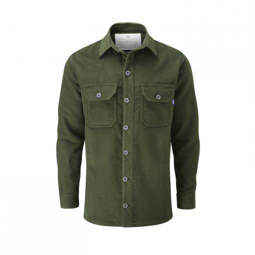 McNair men's PlasmaDry Olive Force shirt