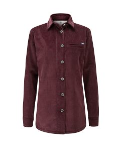 McNair Womens PlasmaDry Mill shirt in Mulberry