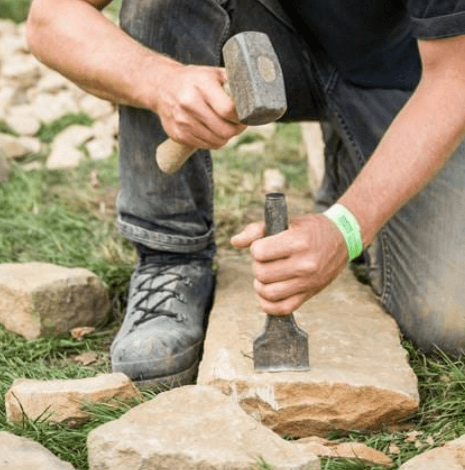 Chatsworth 2019 - Dry Stone Walling