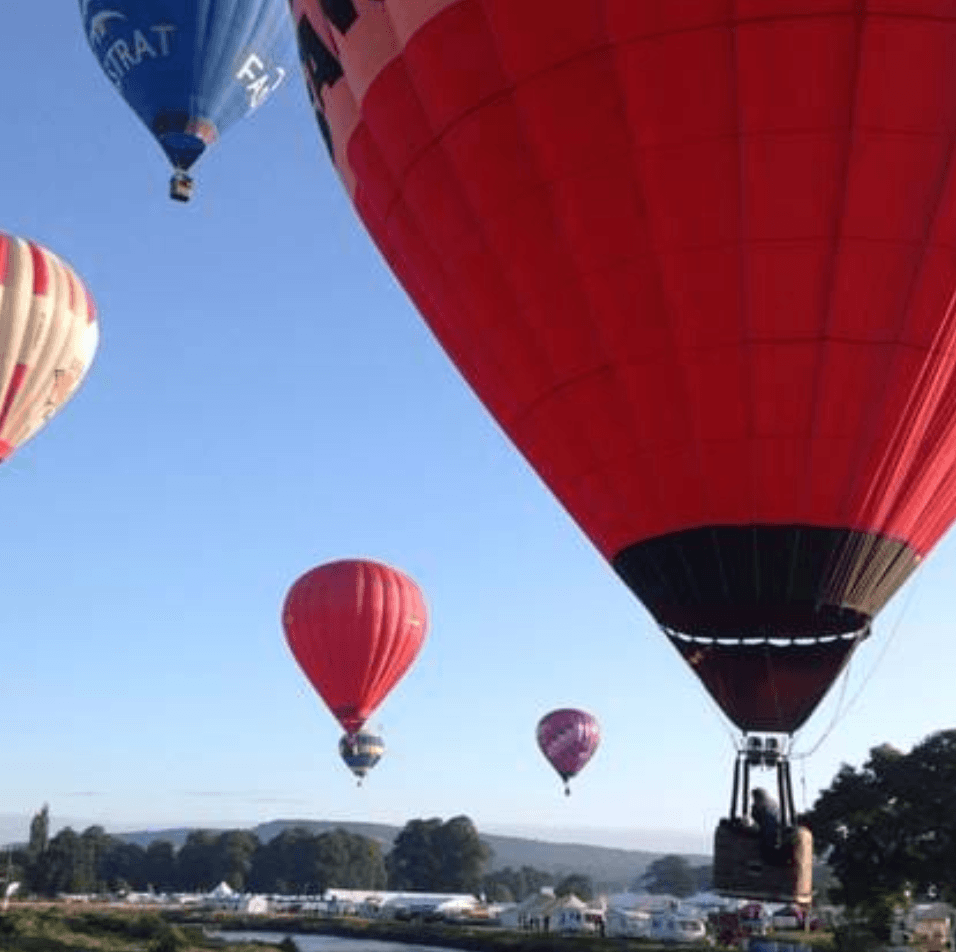 Chatsworth 2019 - Hot Air Ballons