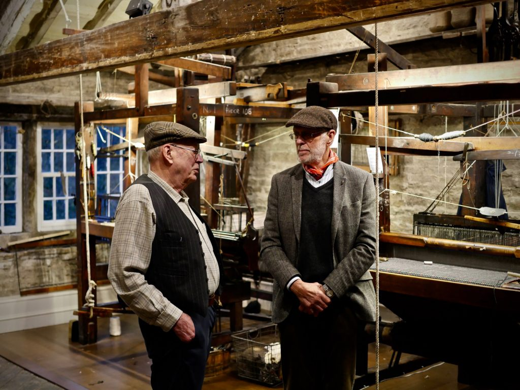 Weavers at the Colne Valley Museum