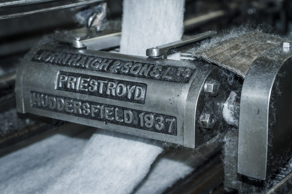 Huddersfield textile industry –machinery
