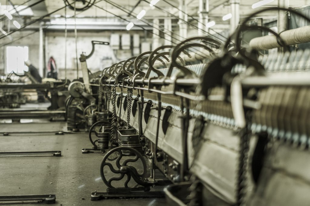 Huddersfield textile industry – machinery