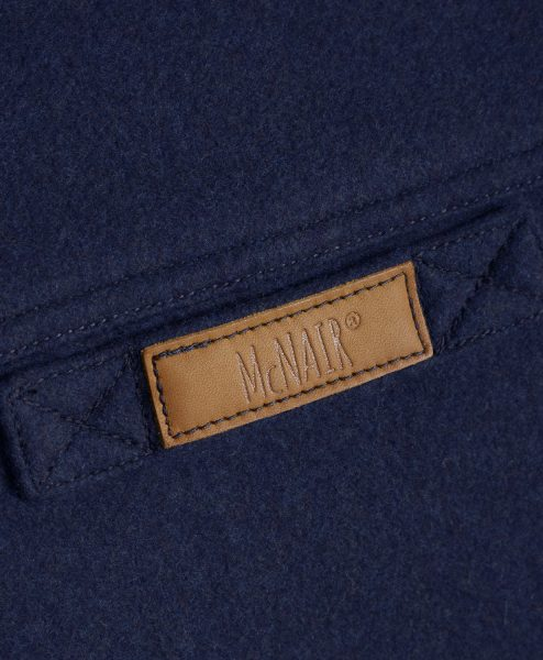 McNair Classic Merino merino Gilet - back label