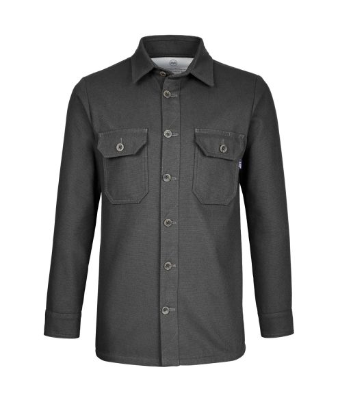 McNair men's PlasmaDry Canvas Work Shirt in black