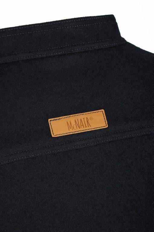 McNair heavyweight merino Valley Gilet - back label